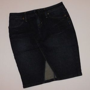 BANANA REPUBLIC Sexy Denim Jean Skirt - Size 00